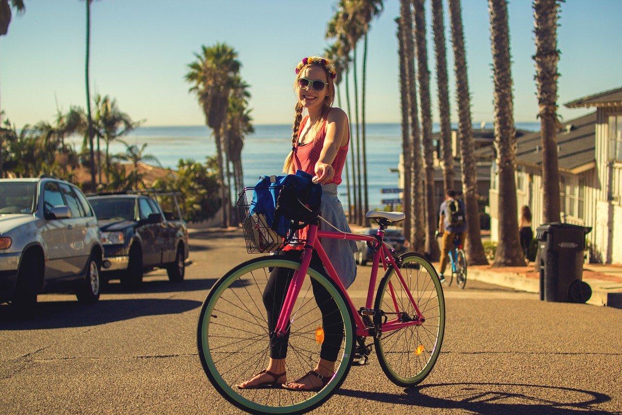 bicycle, bike, city